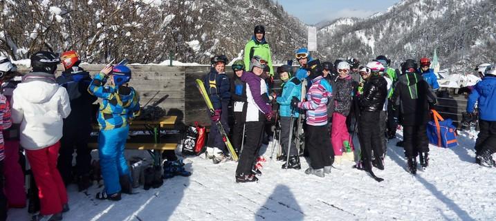 Zimska šola v naravi – 1. in 2. dan