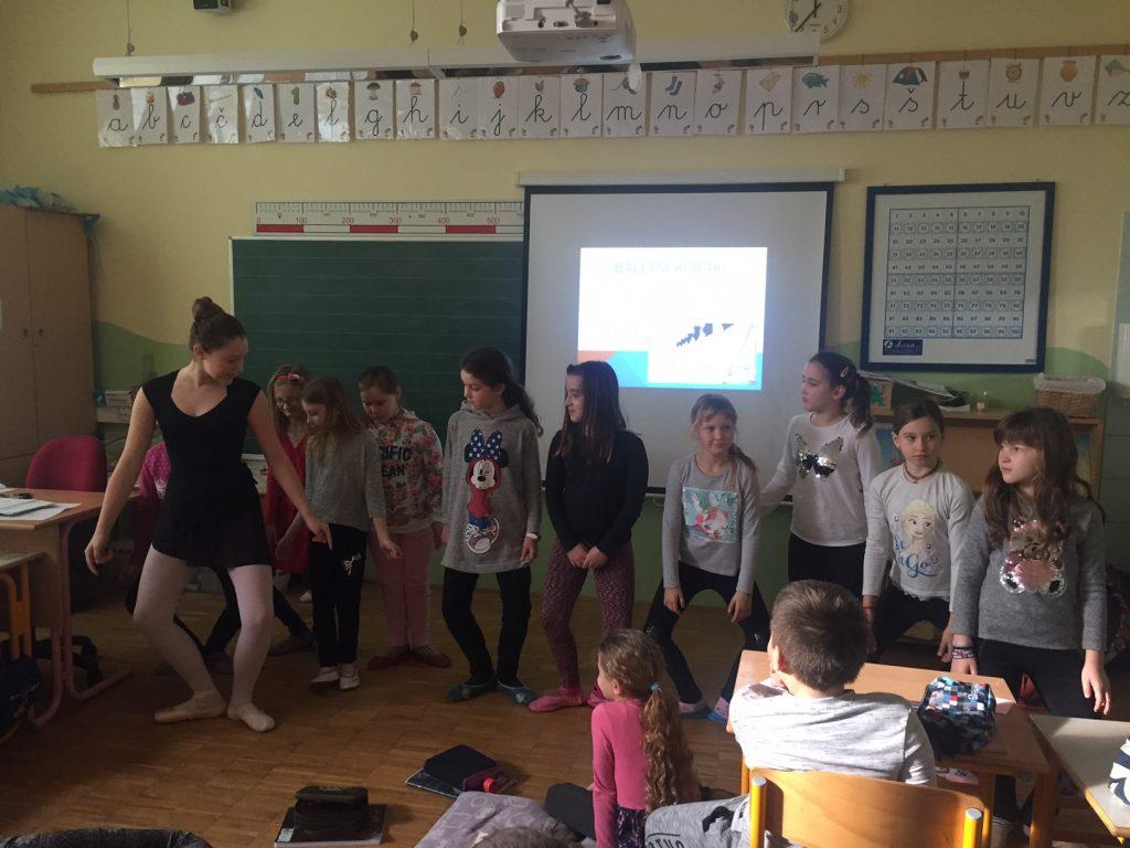 Glasbena umetnost: Balet; Nuša nas je učila v 3. razredu