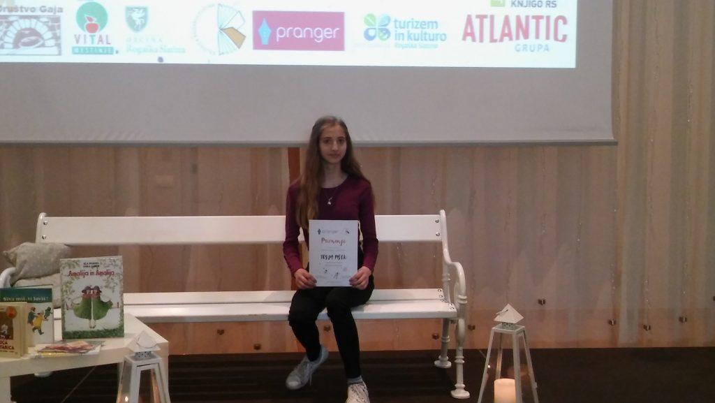 Osnovnošolski natečaj za najboljšo pesem  Ela- Mali Pranger